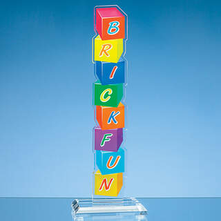 The Acrystalic awards are completely bespoke. Please forward the details of your requirements.