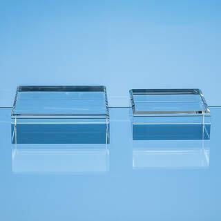7.5cm x 7.5cm Optical Crystal Base