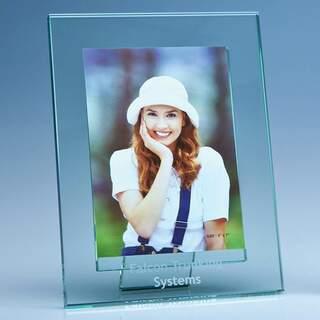 Jade Glass Photo Frame for 5inchinch x 7inchinch Photo  V
